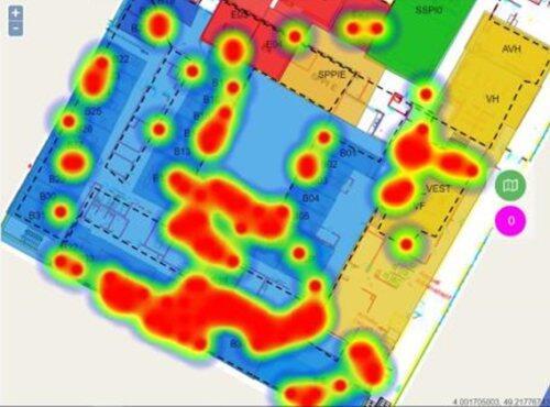 Asset heat map for blog post