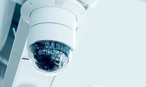 hotel lobby video surveillance camera
