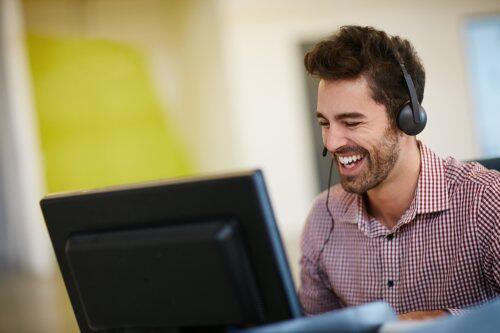 Happy IT worker blog image