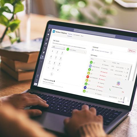 Microsoft Team integration product showcase image