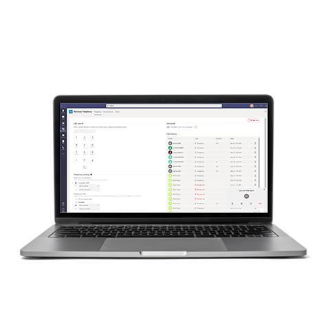 Microsoft Teams integration product image showcase EN