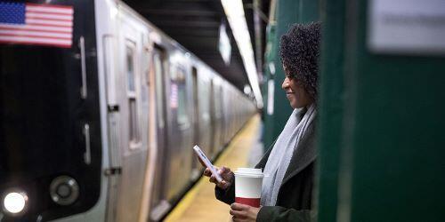 NY Subway with flag blog post image
