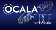 Ocala Fiber Network city logo