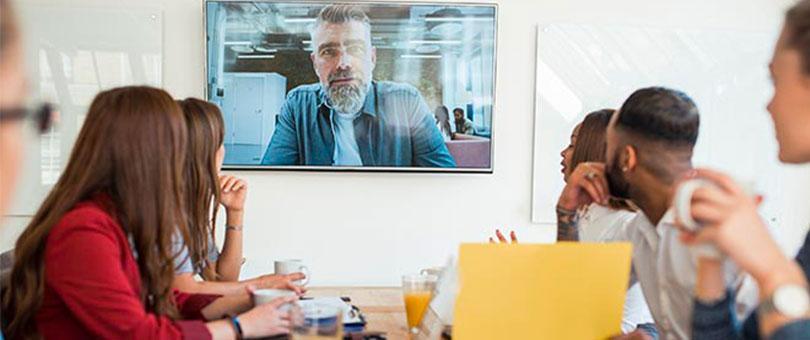 Rainbow enterprise video augment existing huddle room callout image