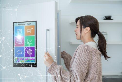 Smart refrigerator / home network for blog blody