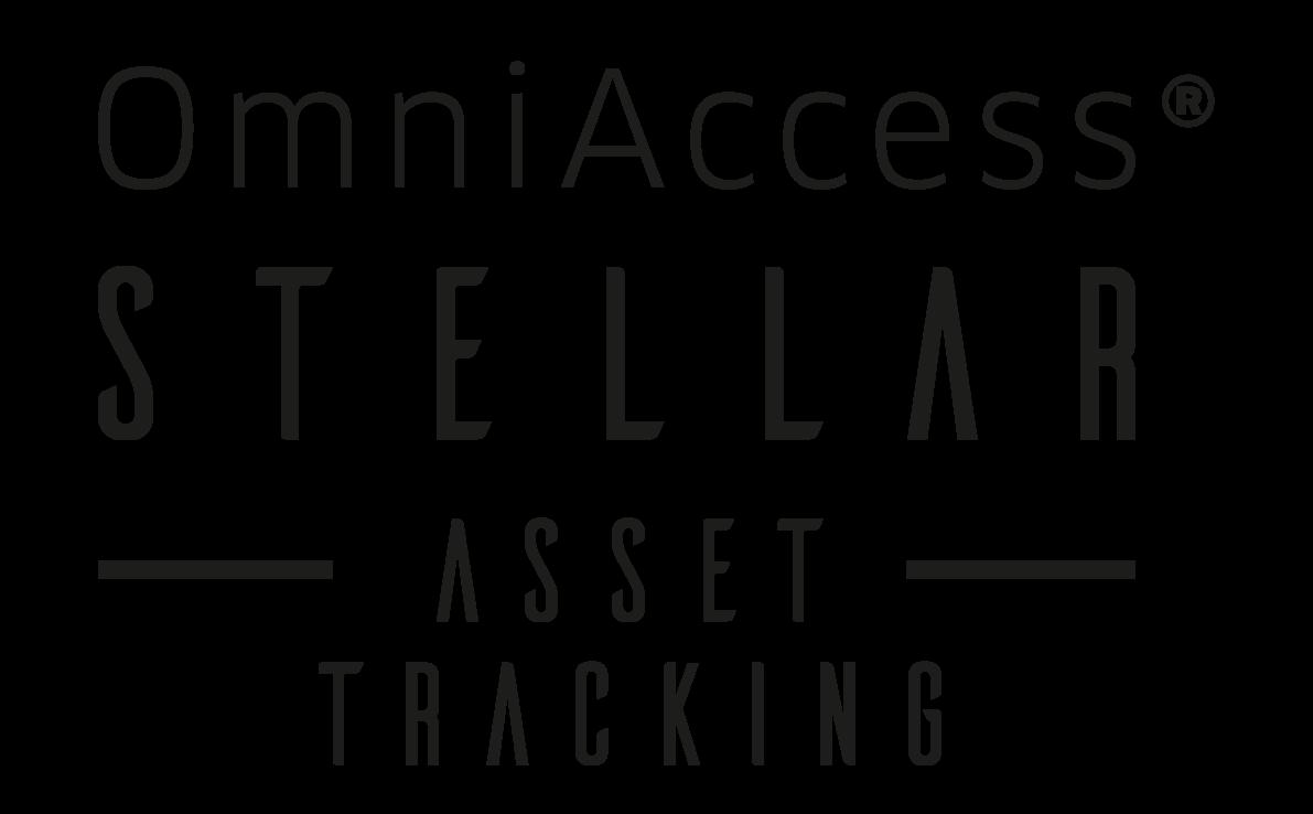 OmniAccess Stellar Asset Tracking Logo Black