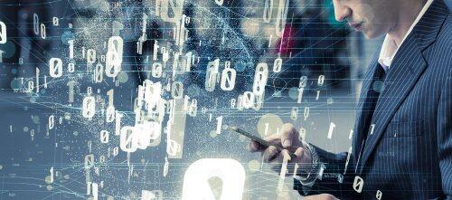 Torrent of data image for blog post